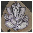 Collection of painted images of Ganesha — Stock Photo #19224615