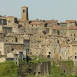 Picturesque old tuscan village Sorano, Italy, Europe - Foto Stock