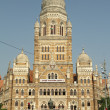 The Municipal Corporation Building ( Brihanmumbai Municipal Corp — Stock Photo