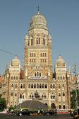 The Municipal Corporation Building ( Brihanmumbai Municipal Corp — Stock Photo