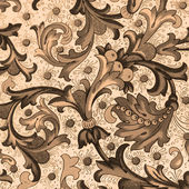 Traditional floral decorative paper, Florence — Stock Photo