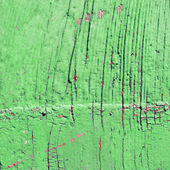 Green old wooden wall — Stock Photo