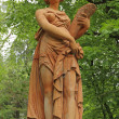 Stock Photo: Statue of Ceres ( greek Demeter ) ancient romgoddess in Stibb