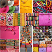 Accessories collage — 图库照片
