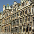 Guildhalls on the Grand Place, Brussels, Belgium, UNESCO World H — Stock Photo