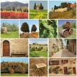 Bella Toscana - collage — Stock Photo