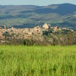 Stock Photo: Fantastic view of panoramof Orvieto town on tuff rock, Umbria,