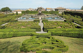 Mannerist garden of Villa Lante in Bagnaia near Viterbo, Lazio, — Stock Photo