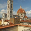 Fantastic view of  the Basilica di Santa Maria del Fiore ( Basil — Stock Photo
