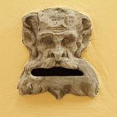 Antique marble mailbox ,Tuscany, Italy — Stock Photo