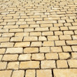 Stock Photo: Street pavement texture made of rectangle rough classic rock t