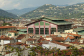 The Mercato Centrale ( Central Market ), or Mercato di San Lore — Stock Photo