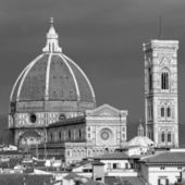 Wonderful view of Basilica di Santa Maria del Fiore ( Basilic — Foto Stock