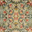 Floral ornamental pattern ,classic florentine paper — Stock Photo