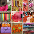 Shopping in Italy collage — 图库照片 #28590995