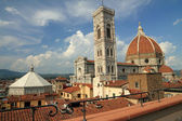 Fantastic view of the Basilica di Santa Maria del Fiore ( Basili — Foto Stock