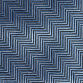 Blue and black zigzag lines pattern — Stock Photo