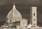 Fantastic view of Basilica di Santa Maria del Fiore ( Basilica — Stock Photo