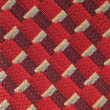 Seamless red fabric pattern — Stock Photo