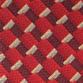 Seamless red fabric pattern — Stock Photo