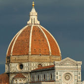 Wonderful Basilica di Santa Maria del Fiore ( Basilica of Sain — Stock Photo