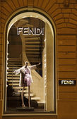 FENDI boutique in Florence — Stok fotoğraf