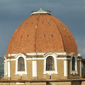 Dome of Medici Chapel, Florence, Italy — Stock Photo