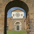 Stock Photo: Church of Saint Peter (SPietro in Italian), in Lombard - Rom