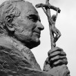Sculpture of Pope John Paul II ( Blessed John Paul or John Paul — Stock Photo #30668957