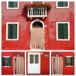 Burano composition — Stock Photo
