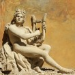Постер, плакат: Ancient god with the lire instrument