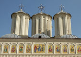 Detail of Romanian Patriarchal Cathedral on Dealul Mitropoliei, — Stockfoto