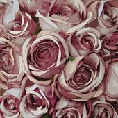 Pink rose pattern — Stock Photo