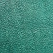 Stock Photo: Teal textured leather background