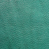 Teal textured leather background — Stock Photo