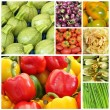 Vegetable mix background — Stockfoto
