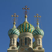 Rysk-ortodoxa kyrkan — Stockfoto