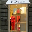 Dior boutique in Florence on famous Tornabuoni — Stock Photo