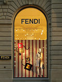 FENDI boutique in Florence — 图库照片
