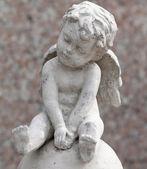 Cement angel — Stock Photo