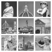 Cultural heritage of art of Florence — Photo