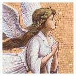 Antique angelic decoration — Stock Photo #39402185