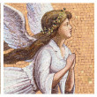 Antique angelic decoration — Stock Photo