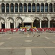Постер, плакат: Quiet Piazza San Marco in the early morning