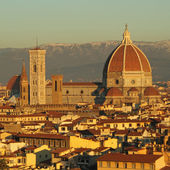 Fantastic view of Florence — Stock Photo