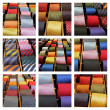 Stock Photo: Ties collection