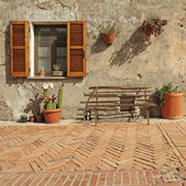 Idillio toscano — Foto Stock
