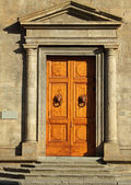 Monumental door — Stock Photo