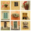 Old stylish italian villa — Stock Photo