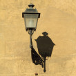 Elegant vintage street lamp — Stock Photo